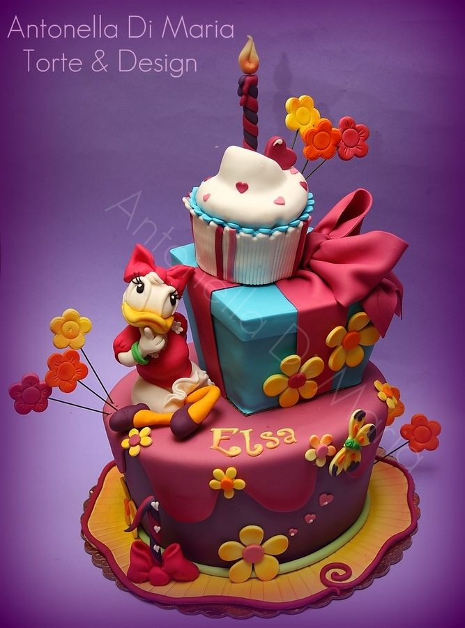 24 Best Daisy Duck Cakes Images On Pinterest Daisy Duck Cake Food