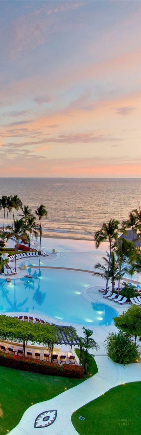 Grand Velas Riviera Maya Mexico #travel #views #places #world #photography