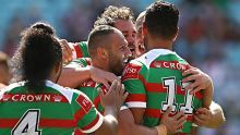 Farah superb in Rabbitohs' Charity Shield win. Robbie Farah opened the scoring for Souths as they strolled to a comfortable win over the Dragons.