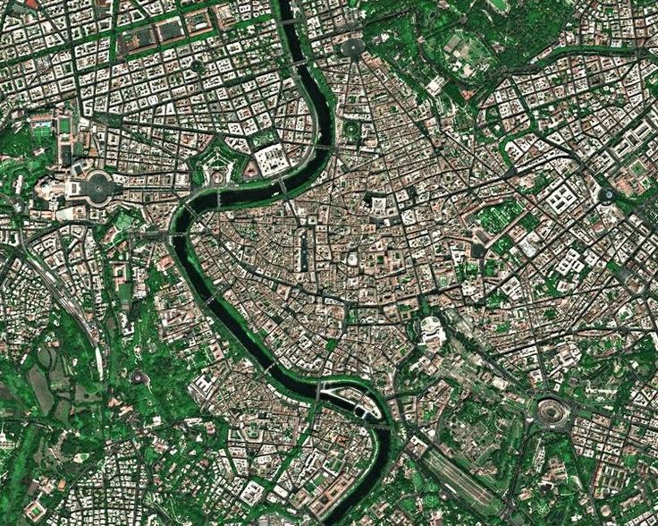 Roma dall'alto. Fantastica.