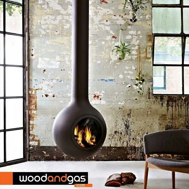 #focus wood central fireplace