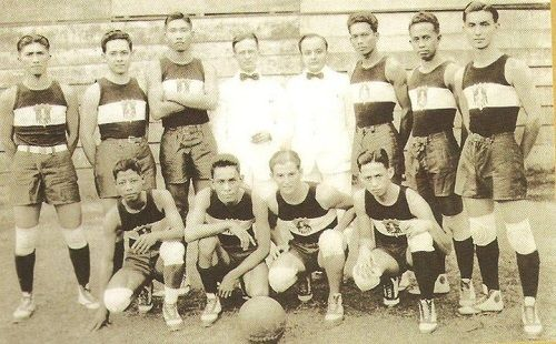 Philippine Basketball Team of the 1923 Far Eastern Championship Games