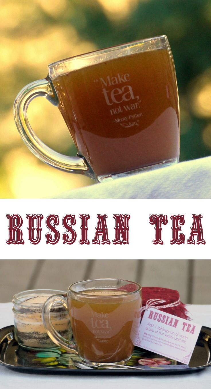 Russian Tea Recipe | The Good Hearted Woman