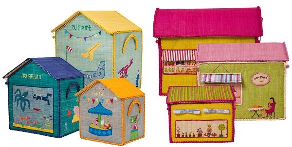 Rice Denmark's fun, functional storage to play with for your kids, these will spark their imagination and brighten up their rooms.