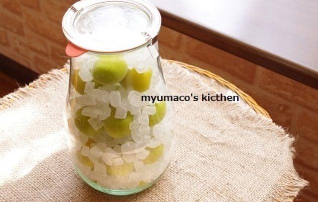 ×おうちでお菓子屋さん× http://s.ameblo.jp/myumaco ブログでレシピ公開中! - 8件のもぐもぐ - 梅シロップ一日目 by みゅまこ