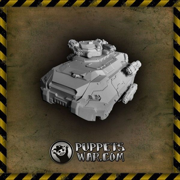 Battles are won through more numerous barrels (and some other things;)) https://puppetswar.eu/product.php?id_product=271 Our Taurus AFV a.k.a. Exterminator