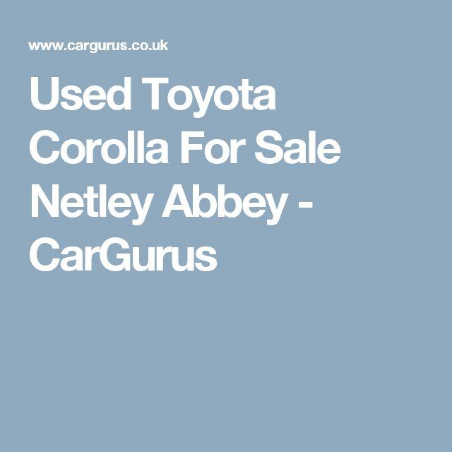 Used Toyota Corolla For Sale Netley Abbey - CarGurus