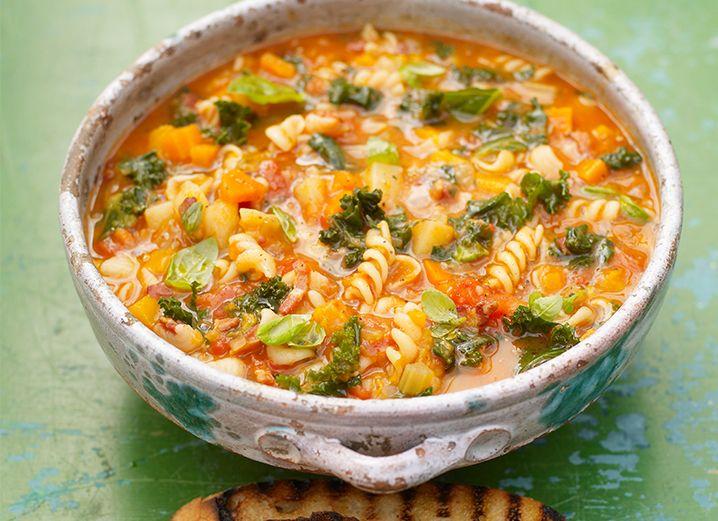 Jamie Oliver's All-Season Minestrone Soup