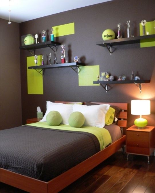 Color blocking is a popular 2012 trend in painting and decorating too [Source: PuraVidaDesign.com]