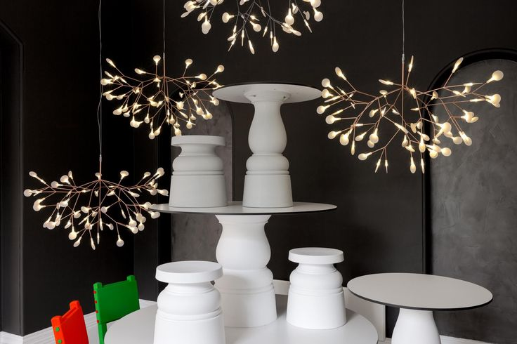 2 x Heracleum II | Moooi UK either in copper or nickel. 1000mm wide x 650 mm heigh £1900 each