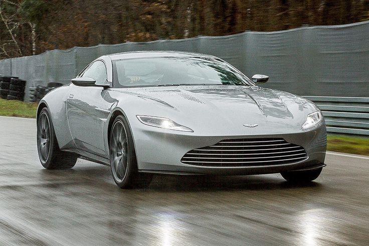 James Bonds exklusives Filmauto gibt einen Design-Ausblick auf den kommenden Aston Martin DB11. AUTO BILD ist den DB10 gefahren!