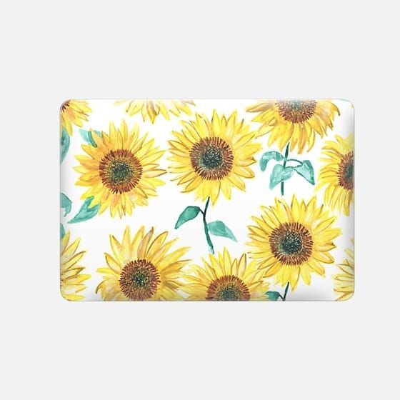 new style e7f59 d7e48 Macbook Snap MacBook Air 13-inch Case - Sunflowers in 2019 ...
