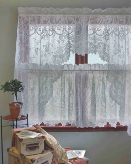 38 Best Lace Curtains Images On Pinterest Lace Curtains Window Coverings And Sheet Curtains