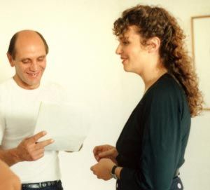 A list of 25 filmmakers and their films here: http://www.vuw.ac.nz/staff/marian_evans/women-filmmaker/list.html  And this is another picture of director Shirley Grace, working with actor Bruno Lawrence.