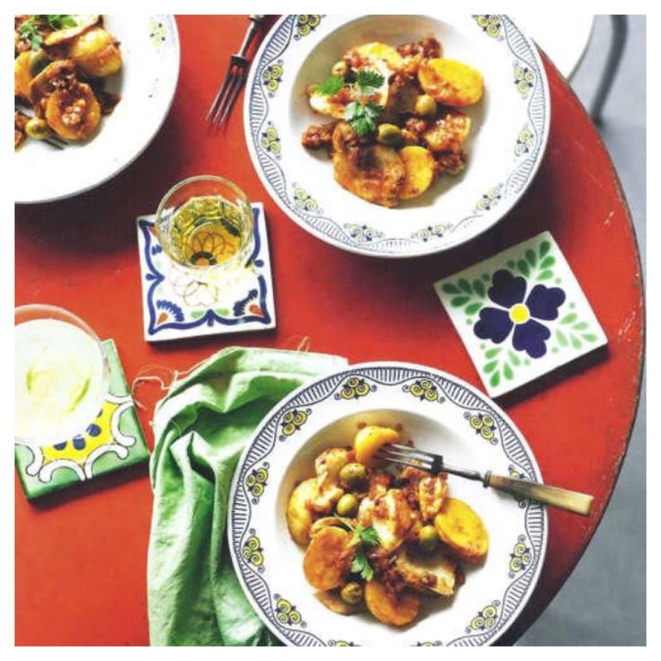 Women's weekly Mexican cookbook.  Styled using Old World Tiles.
