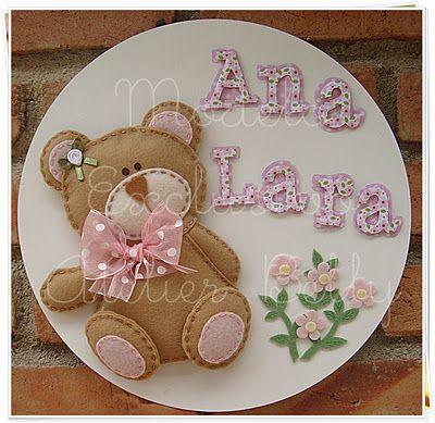 lindo oso para hacer un bienvenido