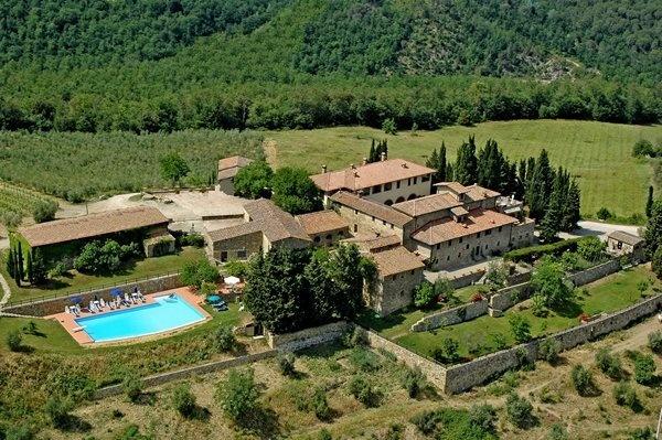 Fattoria Quercia Al Poggio: Located in Tuscany, IT. This is where Biz and I got married...
