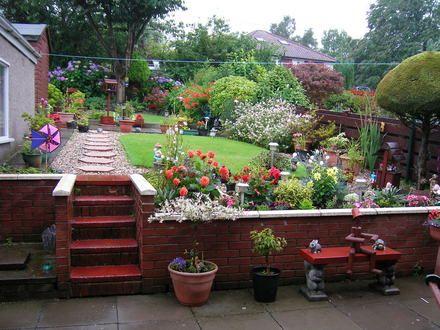 fotos de decoracion de jardines pequeños3