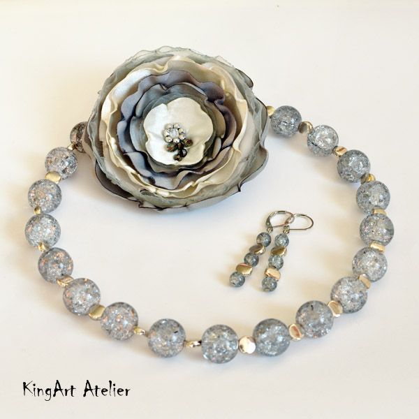 """""""Ready for going out"""" handmade design jewelery by KingArt Atelier"""