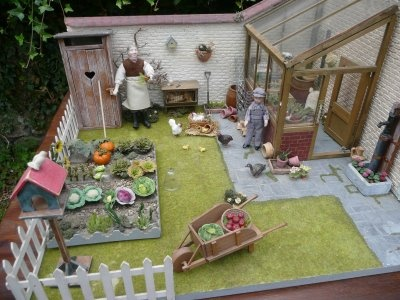 Country House with a kitchen garden, chickens, outhouse... this whole blog is incredible!