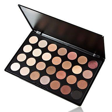 28 värit 5in1 meikkipohjaan pohjamaali säätiö poskipuna aurinkopuuteri savuinen luomiväri ammatillinen kosmeettinen paletti - EUR € 8.59