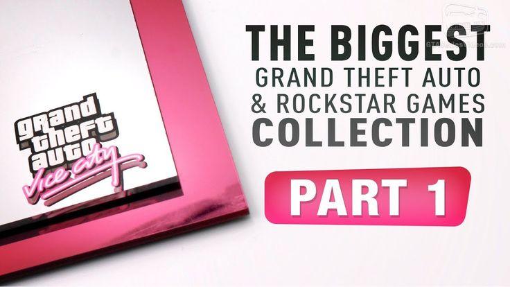 The Biggest GTA & Rockstar Games Collection #GrandTheftAutoV #GTAV #GTA5 #GrandTheftAuto #GTA #GTAOnline #GrandTheftAuto5 #PS4 #games
