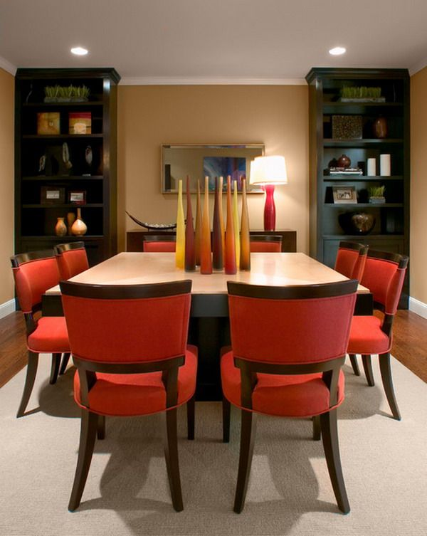 Red Dining Rooms Collection Image Review
