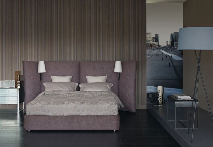 Double #bed #Angle, designed by Rodolfo #Dordoni for #Flou