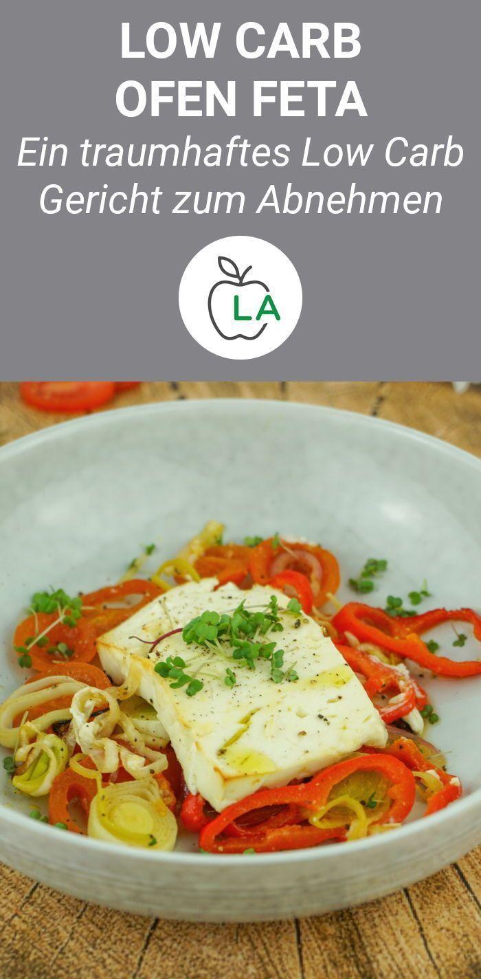 Ofenfeta mit Gemüse – Gesundes, vegetarisches Low Carb Rezept – #Carb #Feta #G …