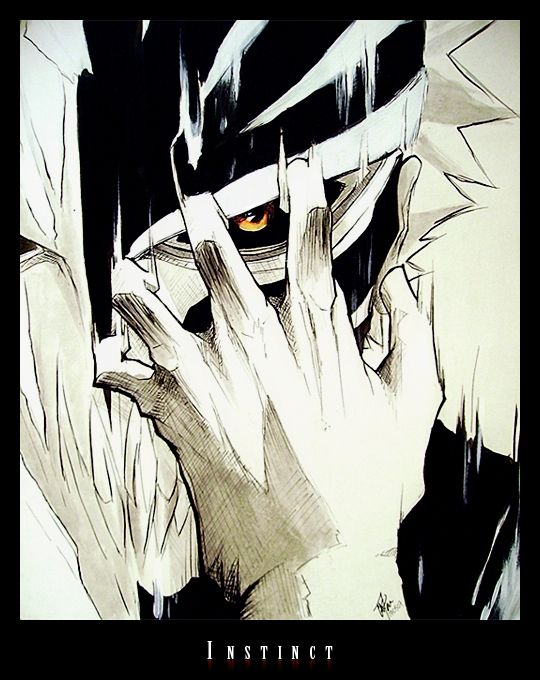 Ichigo Bankai Hollow by ichigo500.deviantart.com on @DeviantArt