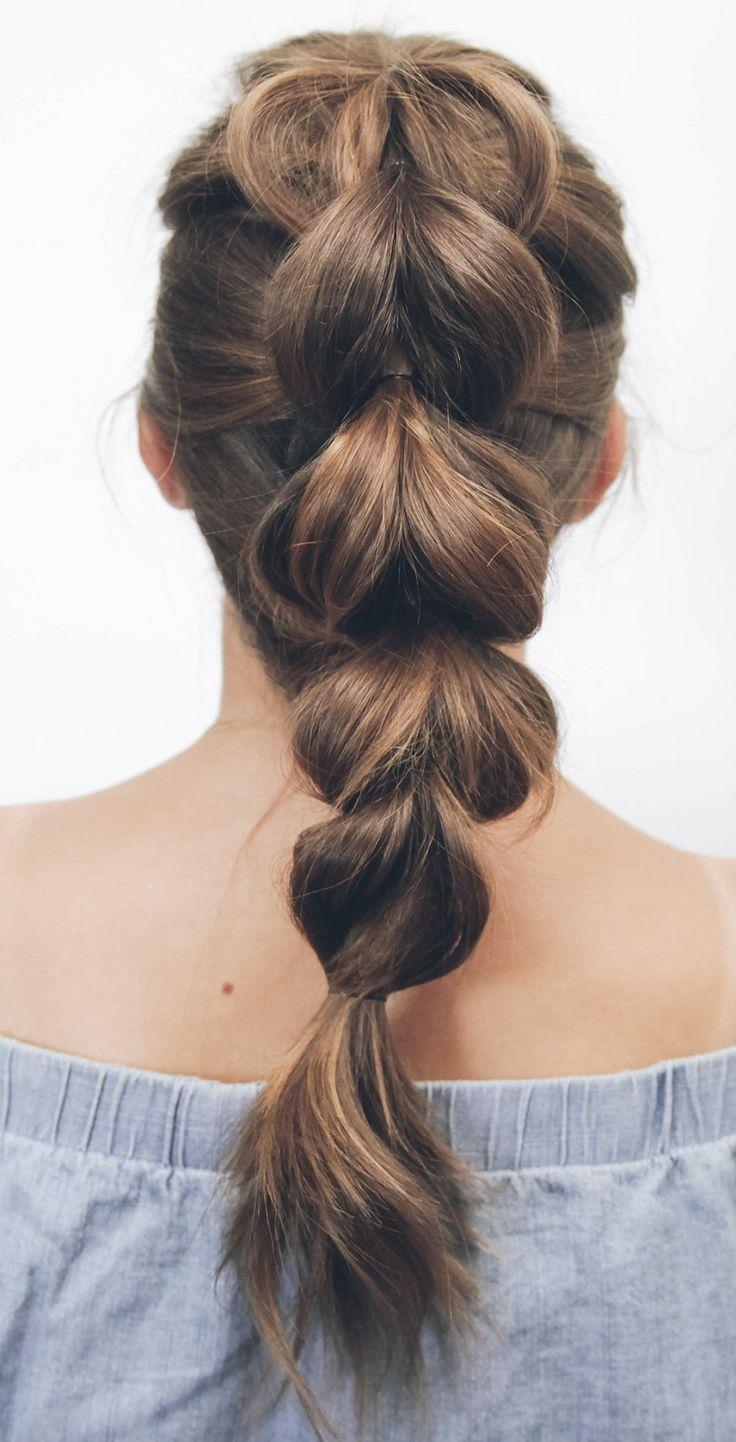 30 Medium Hairstyles For Thick Hair Braids Hairstyles Ideas