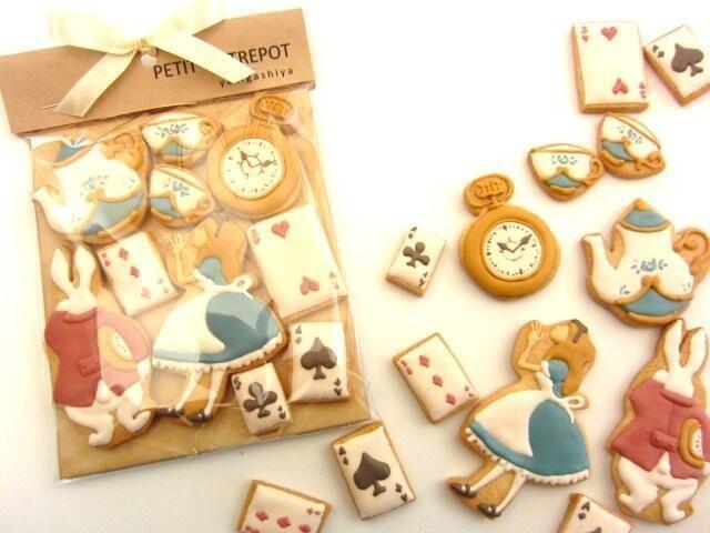 More Alice cookies.
