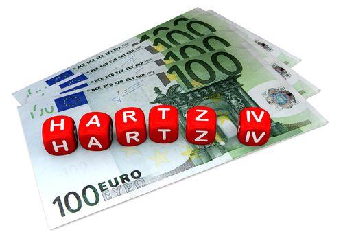 """Osoby które przez dłuższy okres czasu nie potrafią znaleźć pracy, muszą liczyć się z niższym świadczeniem Hartz IV. W 2014 roku bezrobotnym w Niemczech """"przycinano"""" zasiłek o średnio 107 euro."""