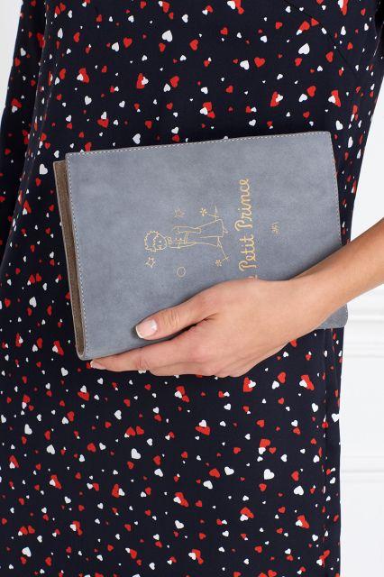 Замшевый клатч Le Petit Prince Foliant - 36700р.