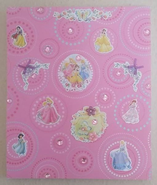 Princess collage.