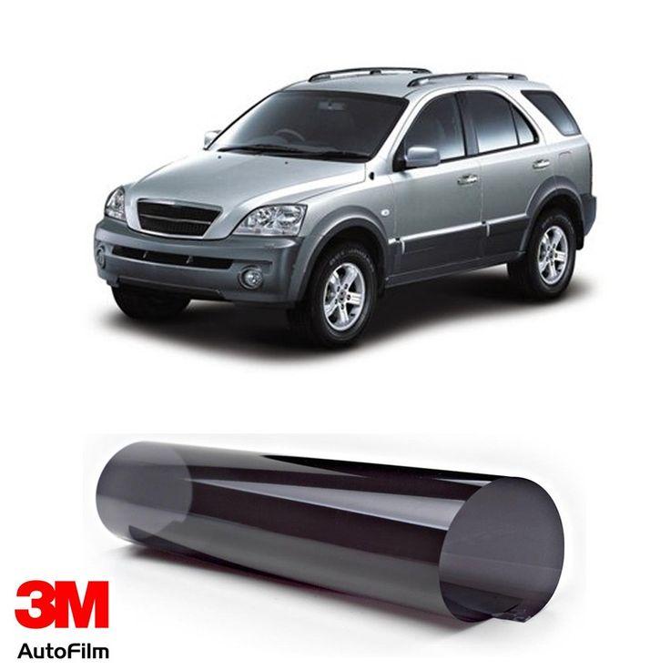 3M Auto Film / Kaca Film Mobil - Paket Medium Eco Black u/ KIA Sorento  - Paket 3M Auto Film tipe Black Beauty u/ kaca depan, kaca samping, & kaca belakang - Menahan 99.9% sinar UV, Setara SPF 1000 - Tidak mengandung metal. http://tigaem.com/3m-auto-film/1945-3m-auto-film-kaca-film-mobil-paket-medium-eco-black-u-kia-sorento.html  #paketmediumecoblack #autofilm #kacafilm #kacamobil #kia #3M