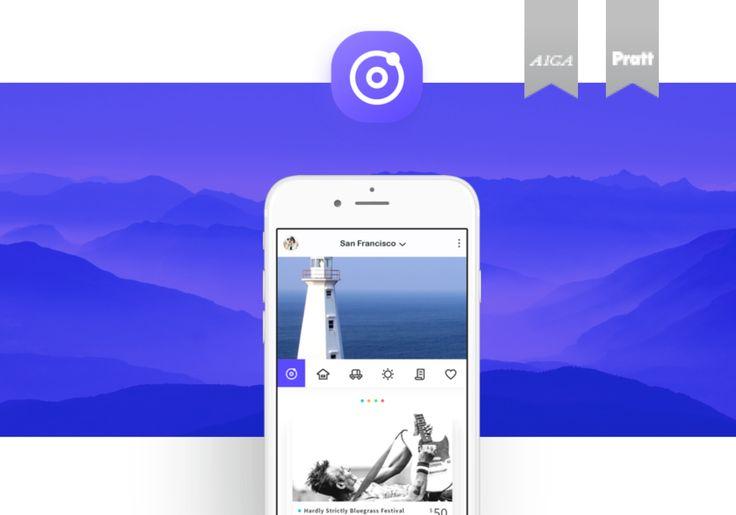 "Me gusta como presentó los wireframes en los celulares de color. Check out this @Behance project: ""Me.Travel"" https://www.behance.net/gallery/43735733/MeTravel"