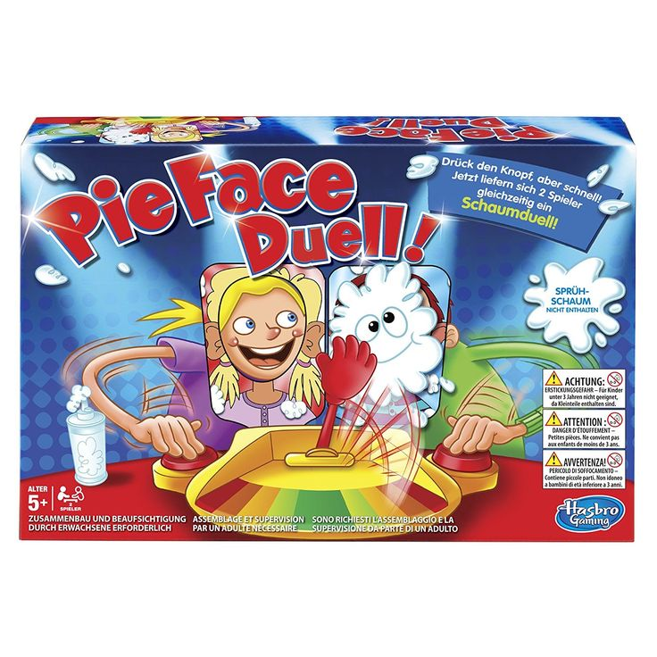 Pie Face Duell