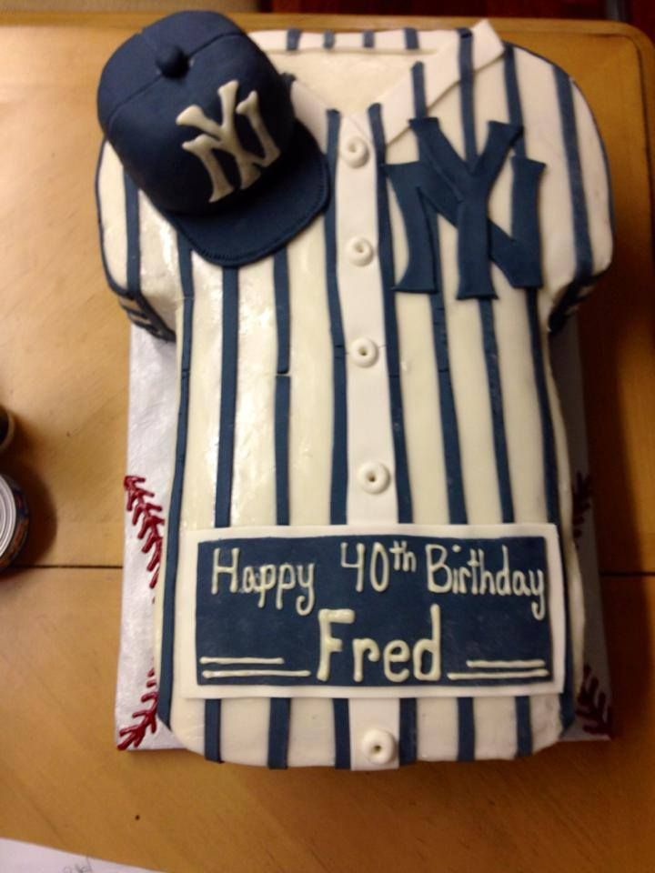 New York Yankees Cake