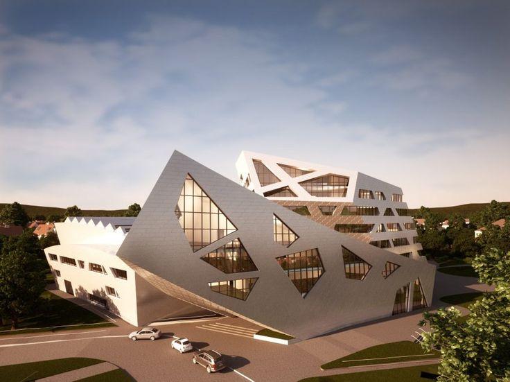 Luneburg University's Libeskind Building