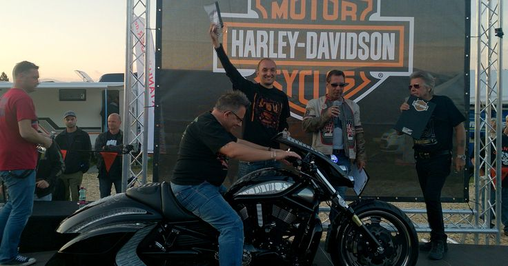 I Place in BEST Water Cooled class at Harley Davidson Custom Bike Show 2015 r. Faaker See Austria – Nimrod