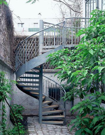 17 best ideas about escalier exterieur bois on pinterest for Escalier helicoidal exterieur