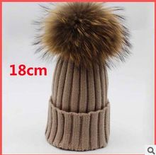 18 cm Large Real Raccoon Fur Pompom Wool Knitted Winter Hat For Women Fashion Women Ski Hat Beanie With Fur Hairball Top     Tag a friend who would love this!     FREE Shipping Worldwide     #Style #Fashion #Clothing    Buy one here---> http://www.alifashionmarket.com/products/18-cm-large-real-raccoon-fur-pompom-wool-knitted-winter-hat-for-women-fashion-women-ski-hat-beanie-with-fur-hairball-top/