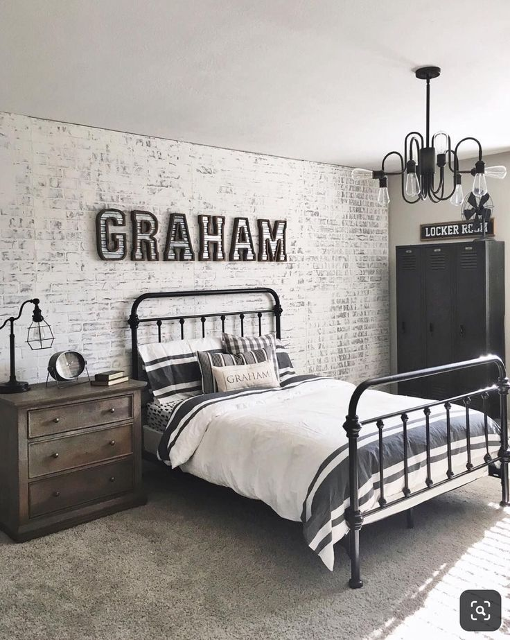 Best Brick Wall Yes Cool Bedrooms For Boys Boy Bedroom 400 x 300