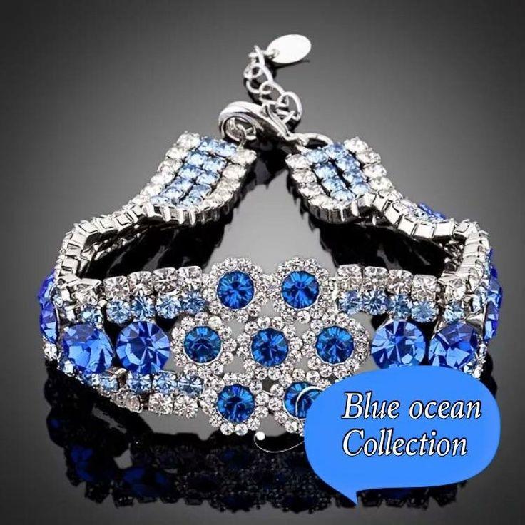 Blue ocean big bracelet kod 760826