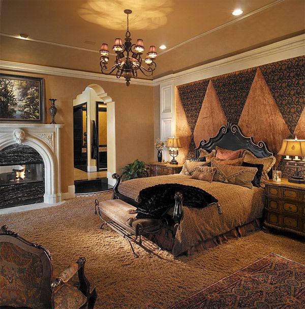 20 Luxurious Design of Mediterranean Bedroom | Home Design Lover