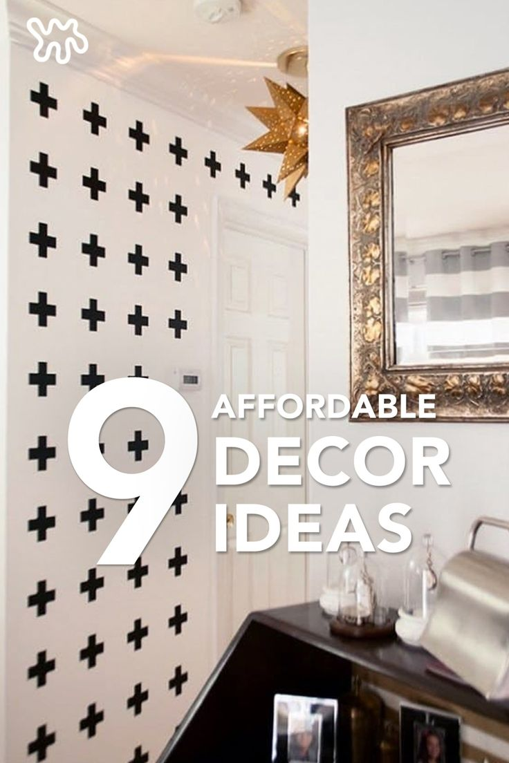 Leading up to the holidays you may find yourself wanting to switch up your rooms with new stylish details. Try these 9 affordable decor ideas to bring the wow factor to a room without going over budget.