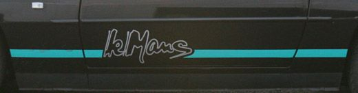 HighgateHouse Decal Sticker Porsche 924S LeMans