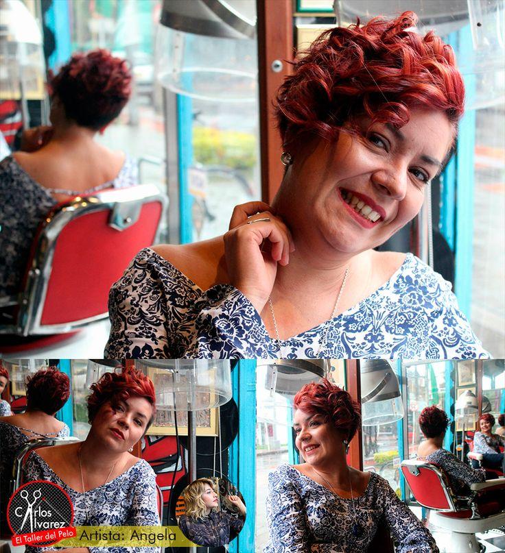 Peinados para cabello corto! 😜 Reserva tu cita con nuestra artista Angela Gabriela 📆 www.eltallerdelpelo.com