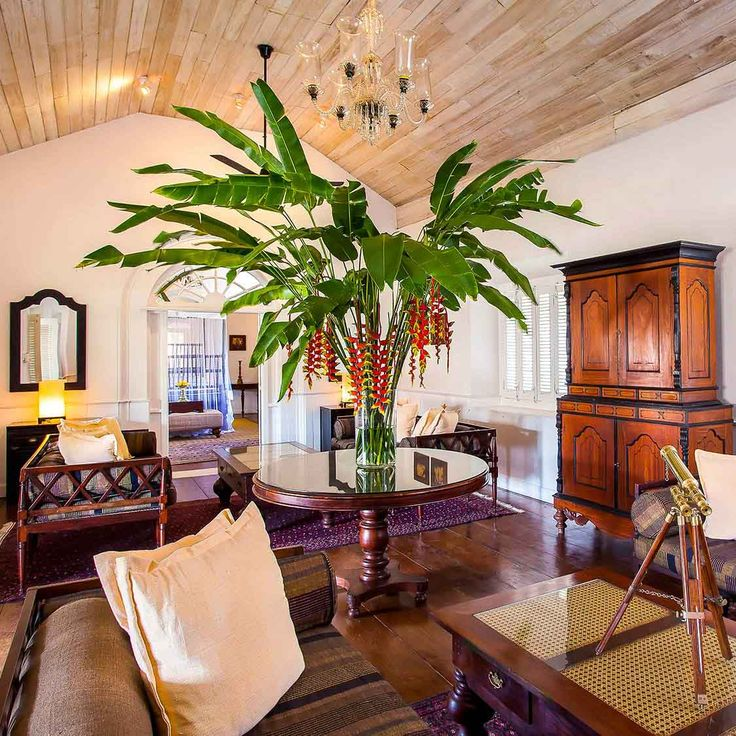 Living Room The Galle Fort Hotel Vossy